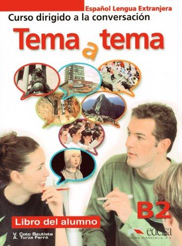 9783060301379: Tema y tema Niveau B2. Libro del alumno