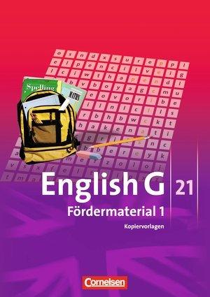 9783060310180: English G 21, Fördermaterial 1, Kopiervorlagen