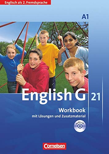 9783060310739: English G 21. 2. Fremdsprache. Ausgabe A 1. Workbook mit CD: 1. Lernjahr