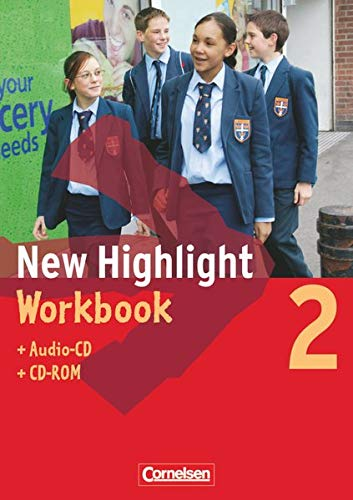 9783060311750: New Highlight 2. 6. Schuljahr. Workbook mit Lieder- und Text-CD und CD-ROM. Allgemeine Ausgabe