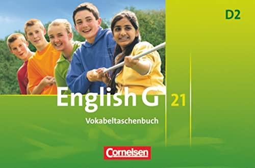 9783060311859: English G 21. Ausgabe D 2. Vokabeltaschenbuch: 6. Schuljahr