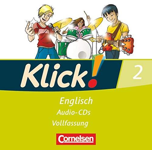 9783060312023: Klick! Englisch 2: 6. Schuljahr. Lieder- und Text-CD