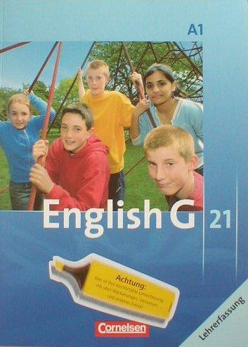 9783060312139: English G 21 A1 für Gymnasien Lehrerfassung