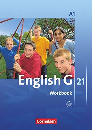 9783060312313: English G 21. Ausgabe A 1. 5. Schuljahr. Workbook mit CD