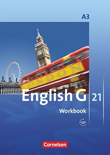 9783060312337: English G 21 - Ausgabe A / Band 3: 7. Schuljahr - Workbook mit Audio-Materialien online