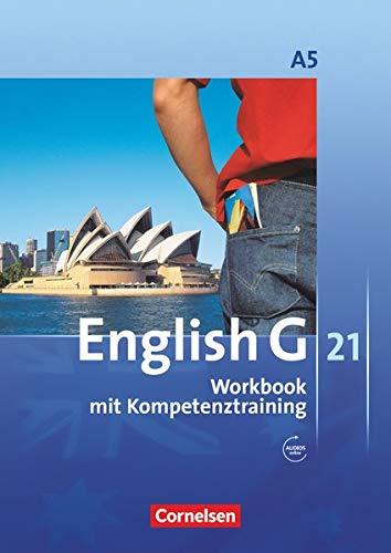 9783060312351: English G 21. Ausgabe A 5: 9. Schuljahr. Workbook mit CD