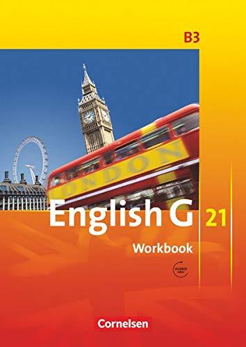 9783060312399: English G 21 - Ausgabe B 3. 7. Schuljahr. Workbook mit CD