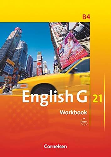 9783060312405: English G 21. Ausgabe B 4. Workbook mit CD: 8. Schuljahr