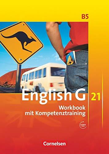 9783060312412: English G 21. Ausgabe B 5: 9. Schuljahr. Workbook mit CD