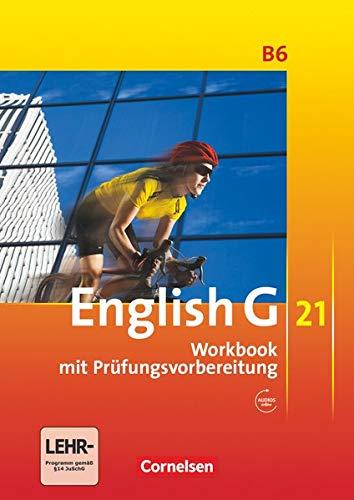 9783060312429: English G 21 - Ausgabe B 06: 10. Schuljahr. Workbook mit CD-Extra