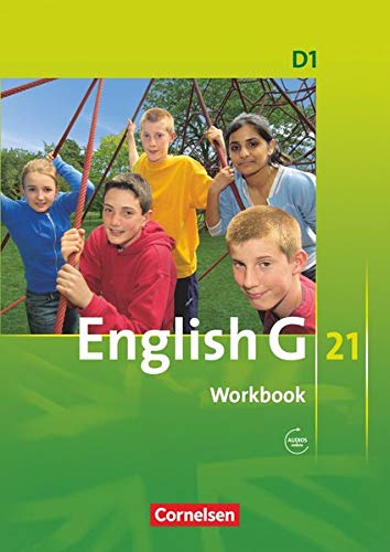 9783060312436: English G 21. Ausgabe D 1. Workbook mit Audios online: 5. Schuljahr