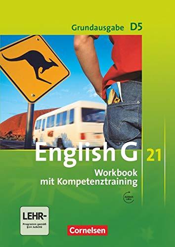 9783060312511: English G 21. D 5 Grundausgabe. 9. Schuljahr. Workbook mit CD