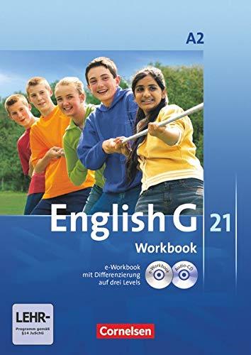 9783060312702: English G 21. Ausgabe A 2. Workbook mit CD-ROM (e-Workbook) und CD: 6. Schuljahr