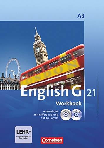 9783060312719: English G 21 - Ausgabe A 3. 7. Schuljahr. Workbook mit CD-ROM (e-Workbook) und CD