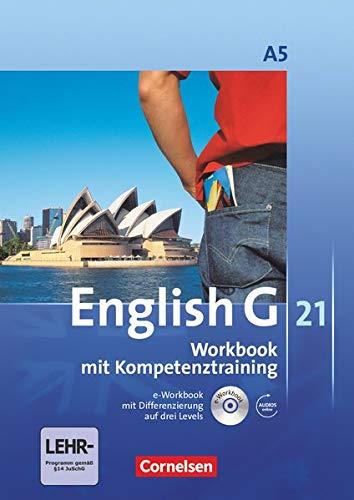 9783060312733: English G 21. Ausgabe A 5: 9. Schuljahr. Workbook mit CD-ROM (e-Workbook) und CD