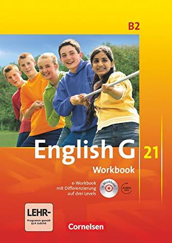 9783060312764: English G 21. Ausgabe B 2. Workbook mit CD-ROM (e-Workbook) und CD: 6. Schuljahr