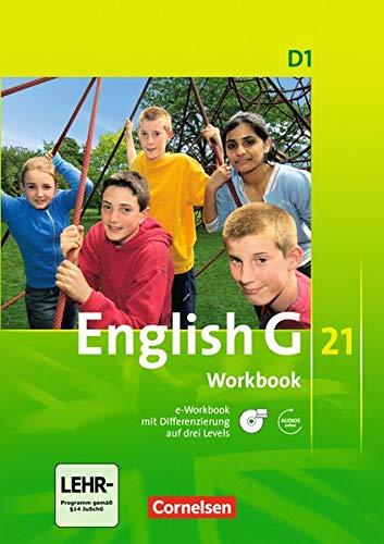 9783060312818: English G 21. Ausgabe D 1. Workbook mit CD-ROM (e-Workbook) und CD: 5. Schuljahr