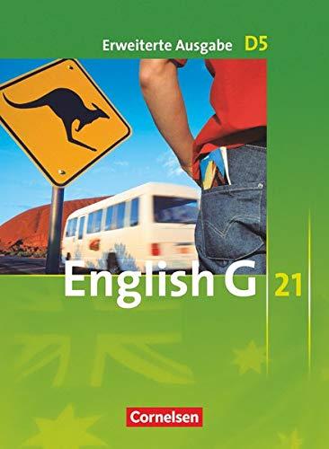 9783060313235: English G 21. Erweiterte Ausgabe D 5. Schülerbuch: 9. Schuljahr