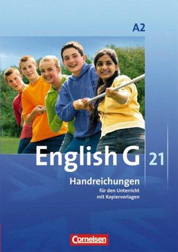 9783060313280: English G 21 - Handreichungen für den Unterricht mit Kopiervorlagen