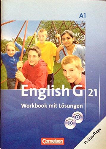 9783060313778: A1 English G 21 Workbook mit Lösungen 2 CD´s Audio-CD und e-Workbook