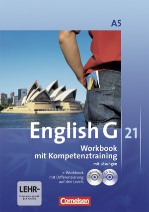 9783060313815: English G 21 Ausgabe A. Band 5. 9. Schuljahr. Workbook mit e-Workbook und CD-Extra - Mit Lösungsschlüssel