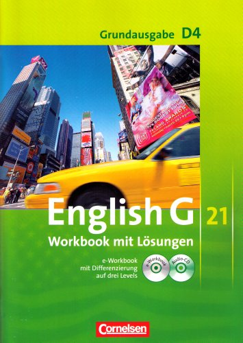 9783060313952: English G 21 Grundausgabe D4 Workbook mit Lösungen