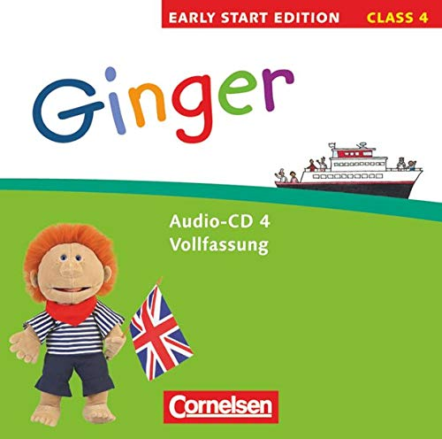 9783060314201: Ginger - Early Start Edition 4 - Lieder-/Text-CDs: 4. Schuljahr
