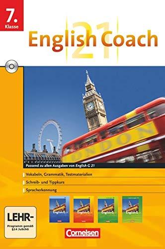 9783060314652: English G 21 - Lernsoftware - English Coach 21 (zu allen Ausgaben) - Version für zu Hause: English Coach 21 Band 3: 7. Schuljahr