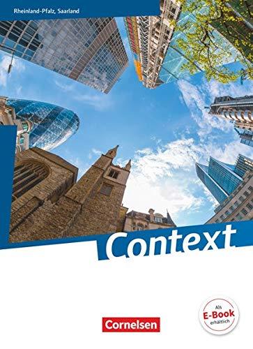 9783060314829: Context Schülerbuch. Rheinland-Pfalz/ Saarland