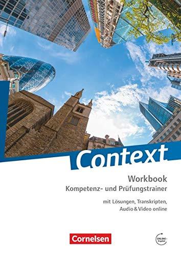 9783060316670: Context: Kompetenz- und Prüfungstrainer. Workbook mit Online-Materialien