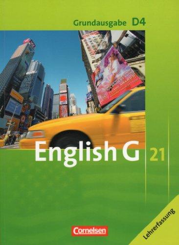 9783060317028: Grundausgabe G 21 ; D4 ; Grundausgabe für diferenzierende Schulformen ; Lehrerfassung