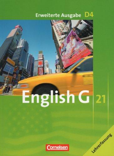 9783060317059: English G 21, D4, Erweiterte Ausgabe, Lehrerfassung