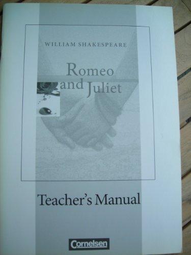 9783060317691: Romeo and Juliet, Teacher's Manual