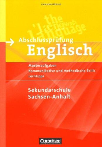 9783060317882: Abschlussprüfung Englisch 10. Schuljahr. Sekundarschule Sachsen-Anhalt