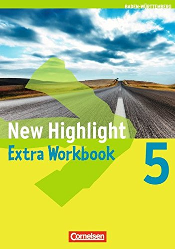 9783060318650: New Highlight  5: 9. Schuljahr. Workbook Extra Baden-Württemberg