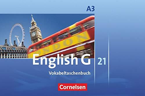9783060319244: English G 21. Ausgabe A 3. Vokabeltaschenbuch: 7. Schuljahr