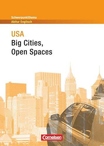 9783060319794: Schwerpunktthema Abitur Englisch. USA: Big Cities - Open Spaces: Textheft