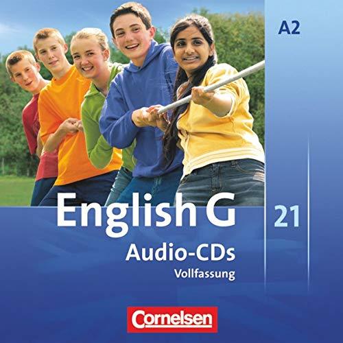 9783060319992: English G 21. Ausgabe A 2. Audio-CDs: 6. Schuljahr. Vollfassung