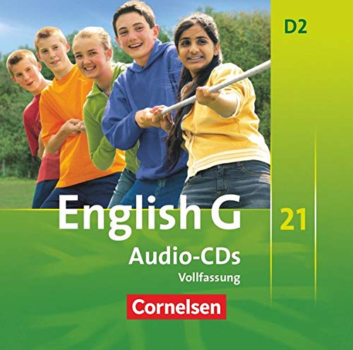 English G 21 D2: 6. Schuljahr. CDs (_AV)