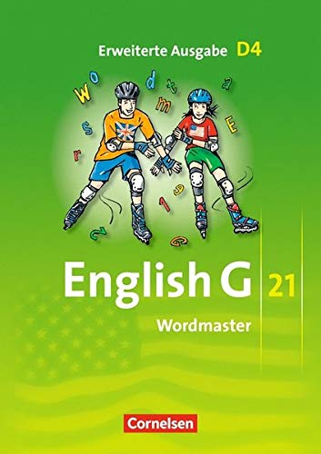 9783060320479: English G 21. Erweiterte Ausgabe D 4. Wordmaster: 8. Schuljahr. Vokabellernbuch