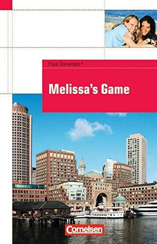 9783060321230: Melissa's Game