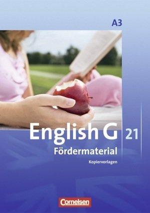 9783060321926: English G 21. Ausgabe A3 7. Schuljahr. Fördermaterial. Kopiervorlagen