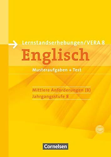 9783060322466: Vorbereitungsmaterialien für VERA - Englisch. 8. Schuljahr. Mittlere Anforderungen B. Arbeitsheft mit CD und Beilage