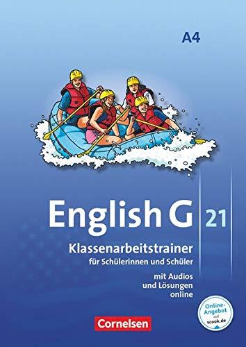 9783060322503: Inglés G 21 - Número A / Volumen 4: 8 ° grado - entrenador de aula con soluciones y audios en línea