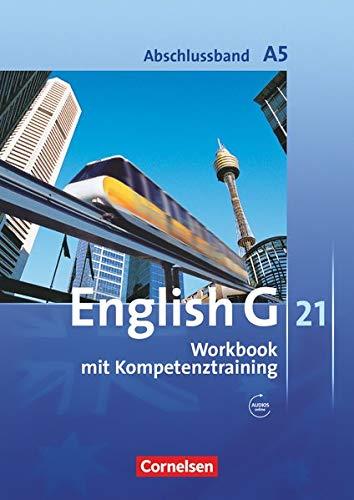 9783060322633: English G 21. Ausgabe A. Abschlussband 5: 9. Schuljahr. Workbook mit CD
