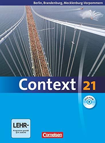 9783060323456: Context 21. Schülerbuch mit DVD-ROM. Berlin, Brandenburg und Mecklenburg-Vorpommern