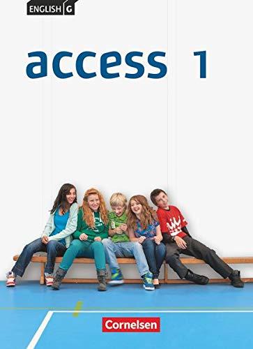 9783060325443: English G Access 01: 5. Schuljahr. Schülerbuch Allgemeine Ausgabe