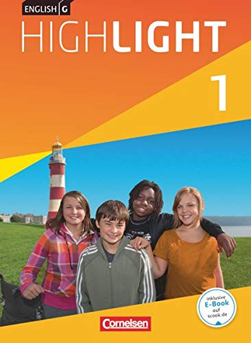 9783060325719: English G Highlight 01: 5. Schuljahr. Schülerbuch Hauptschule