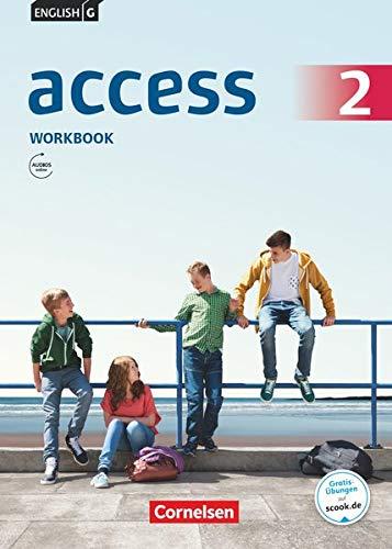 9783060325825: English G Access 6. Schuljahr. Allgemeine Ausgabe. Workbook mit Audios online