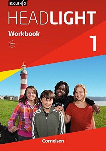 9783060326068: English G Headlight 01: 5. Schuljahr. Workbook mit Audio-Materialien